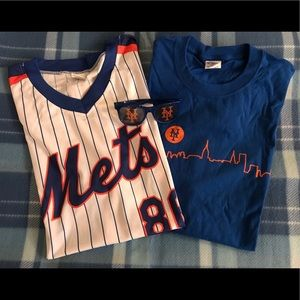 Shirts - Mets jersey and tee